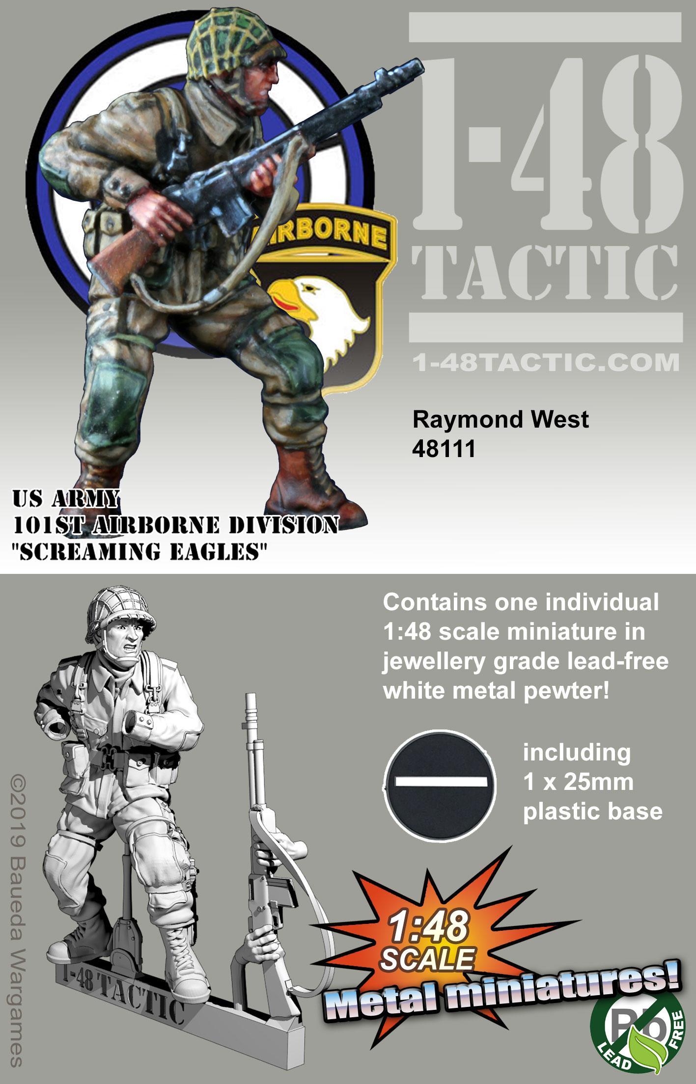 48111 Raymond (Ray) West BAR gunner 101st Airborne Division