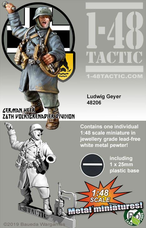 48206 Ludwig Geyer grenadier 26th Volksgrenadier Division